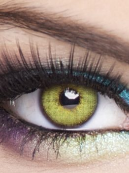 Lime, Almas Lenses, Obsession Paris Contact Lenses