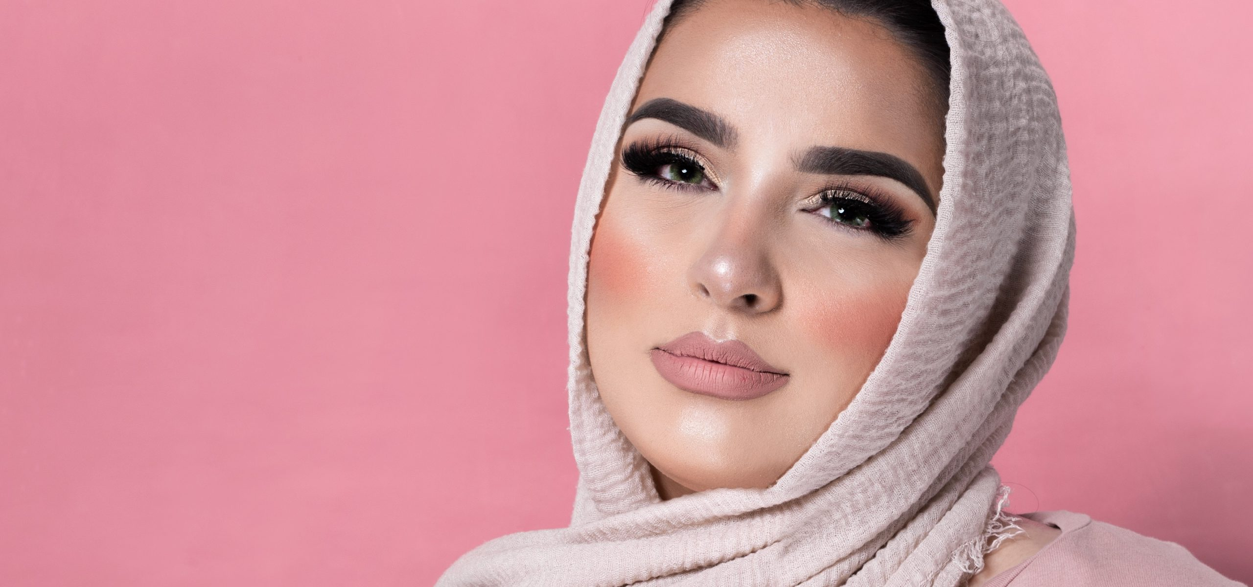 fiercelyglowing hijab kleurlenzen lashes