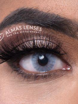 Lina, Ice Gray, jaarlenzen, lashes, lenses, kleurlenzen